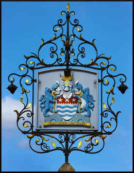 Town sign