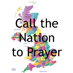 Map & Call the Nation to Prayer logo