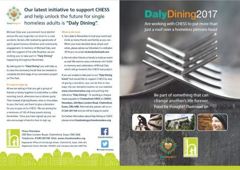 Daly Dining CHESS initiative