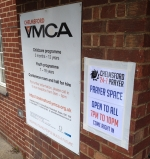YMCA Prayer Space signs