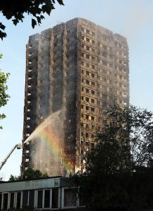 Grenfell Tower rainbow