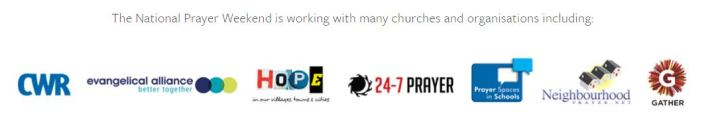 NPW logos of those supporting