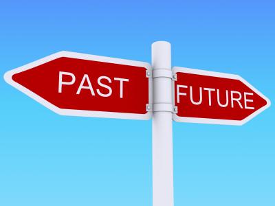 Future past sign post