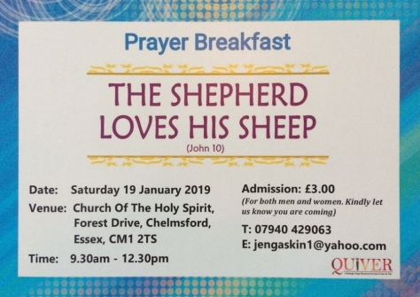 Prayer Breakfast Quiver 190119