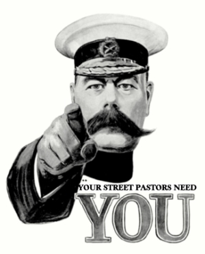 your street pastors need you