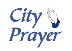 City Prayer -large border