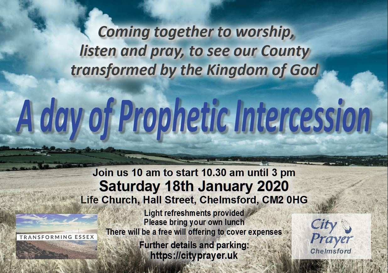 A day of prophetic intercession -180120 - A4 -A5