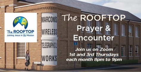 The Rooftop Prayer & Encounter - no City Prayer logo --amended for twice monthly June 2021
